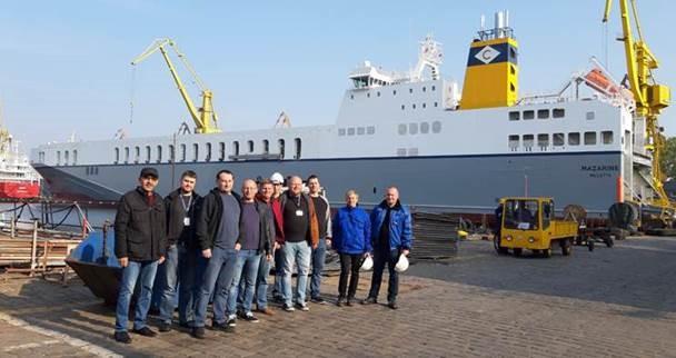 RMDC team involved in ConRo Conversion Project